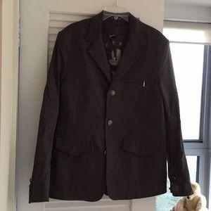 Howe dark charcoal blazer. NWT